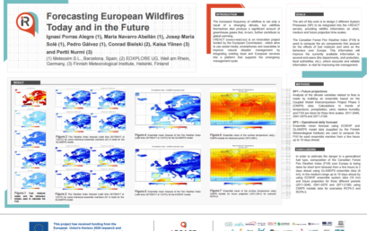 Predecir incendios forestales hoy y en futuro