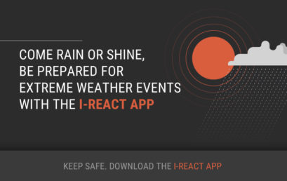 The first European app to empower citizens against floods, fires and extreme weather