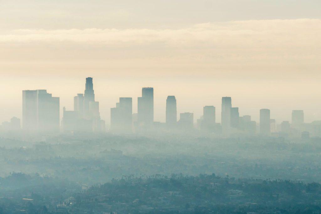 Efecto isla de calor en Los Ángeles,California