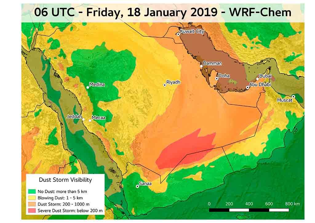Polvo Natural: Cuando la contaminación viene del desierto